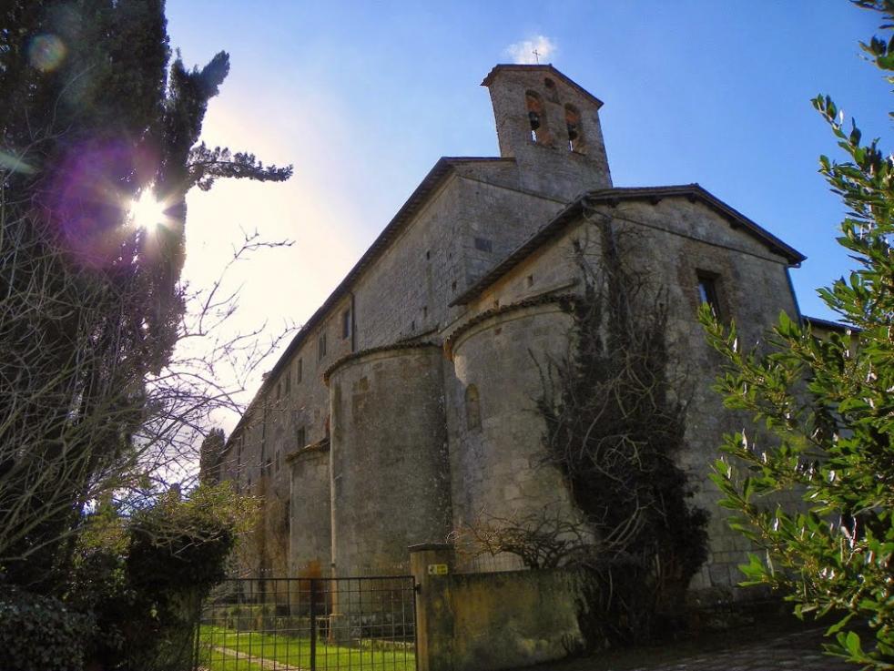 L'Abbazia di Spineto, a Sarteano (SI)
