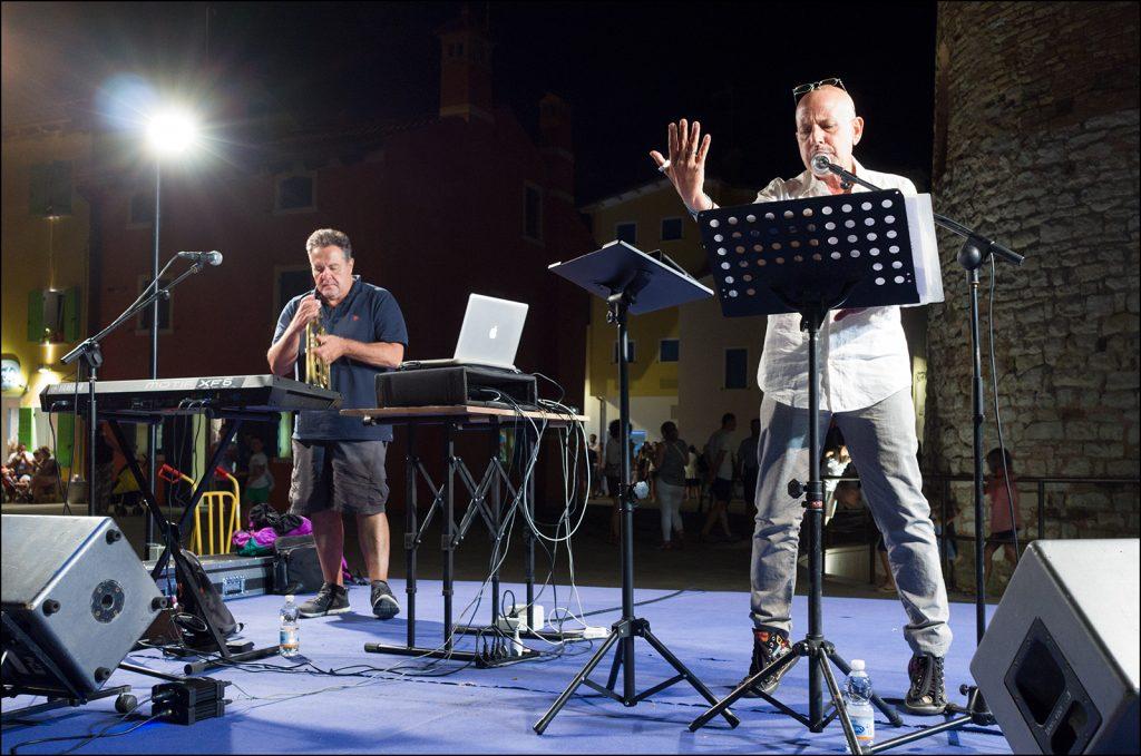 Lello Voce e Frank Nemola ! foto di Dino Ignani