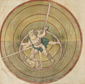 """Sfera planisferica"". On O. Pisani, Astrologia, Antwerp, 1613 (Museo Galileo, Firenze)."