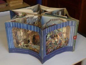 Die Geschichte von Hansel und Gretel oder vom zuckerigen Haus, Esslingen bei Stuttgart, Schreiber, s.d. [Animazioni di Lothar Meggendorfer] (Fondazione Tancredi di Barolo – Torino).
