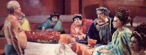 Cena di Trimalcione tratta daFellini Satyricon(1969)