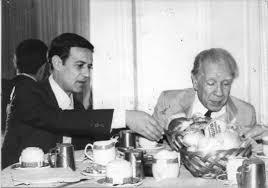 Morelli e Borges discutendo di Neruda