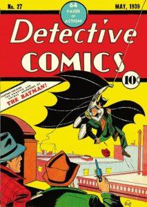 Il n. 27 di Detective Comics con la prima apparizione di Batman (battuto all'asta negli Usa da Heritage nel 2010 per oltre 1.075.000 dollari)