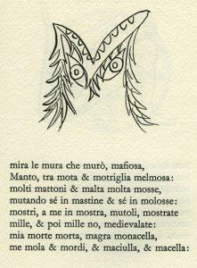 L'alfabeto di Enrico Baj con poesie di Edoardo Sanguineti