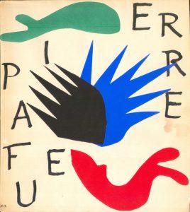Matisse - Pierre a feu. Copertina