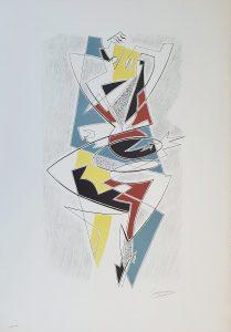 Severini 1962 - Arlecchino. lito 520 x 270