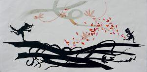 Con l'arte nel DNA. Maria Gioia Tavoni dialoga con la papirografa Clementina Mingozzi